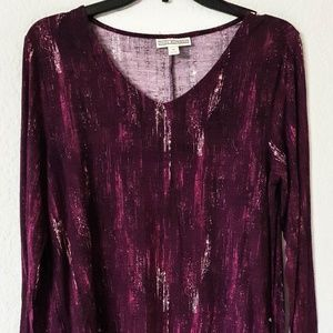 $40 WOMAN TUNIC TOP SIZE M